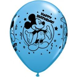 "11"" Mickey Happy Birthday Special Assortment 25Ct"