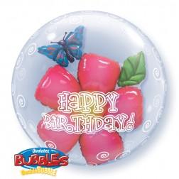 "Double Bubble 24"" Birthday Flower"