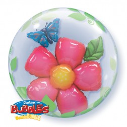 """Double Bubble 24"""" Leaves Flower"""
