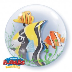 """Double Bubble 24"""" Seaweed Tropical Fish"""