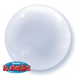 "Deco Bubble 20"" Clear"
