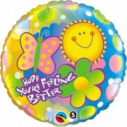 """18"""" Hope You're Feeling Better"""