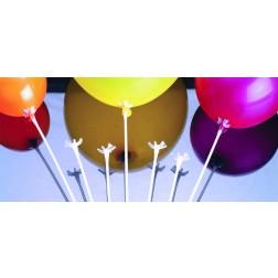 """12"""" White Balloon Saddle (100 Per Bag)"""