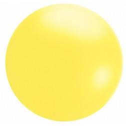 4' Yellow Chloroprene Cloudbuster Balloon