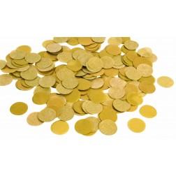 0.8oz Paper Confetti Dots Gold