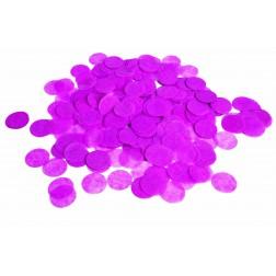 0.8oz Paper Confetti Dots Hot Pink