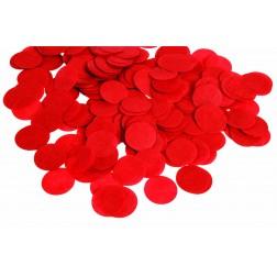0.8oz Paper Confetti Dots Red
