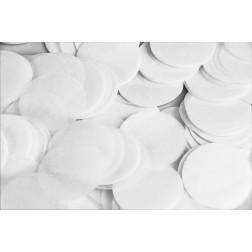 0.8oz Paper Confetti Dots White