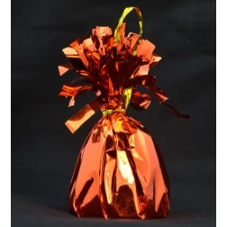 150G/502 Foil Ballon Weight Orange Bronze